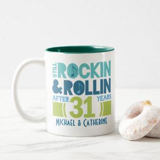 31st Anniversary Personalized Mug Gift