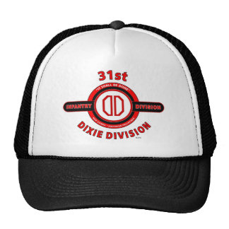 "31ST INFANTRY DIVISION ""DIXIE DIVISION"" TRUCKER HAT"