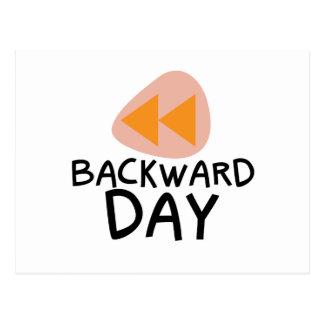 31st January - Backward Day Postcard