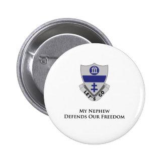 3255th Parachute Infantry Regiment Pinback Buttons