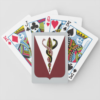 325th Brigade Support Battalion Bicycle Playing Cards