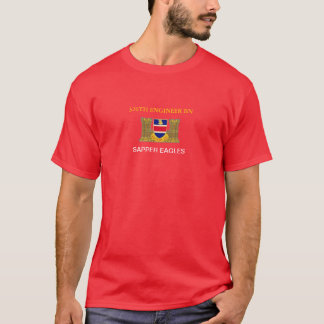 326TH ENGINEER BATTALION SAPPER EAGLES T-SHIRT