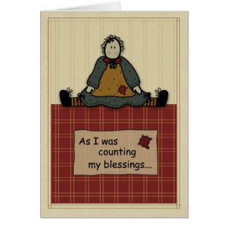 3277 Count Blessings Card