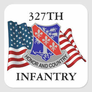327TH INFANTRY STICKERS