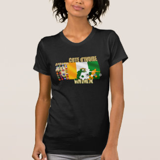 32 Country Ivory Coast Cote d'Ivoire gifts T-Shirt