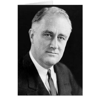 32 Franklin D. Roosevelt Card