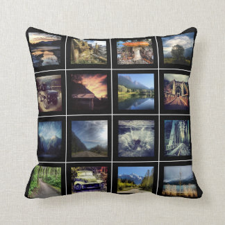 32 Photos of Selfies and Friends or Adventures Pillows