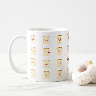 32 Pieces of Bread Emojis Mug