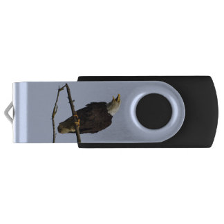 32GB USB Flash Drive with eagle and cub