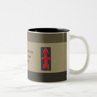 32nd Infantry Red Arrow Brigade Two-Tone Mug