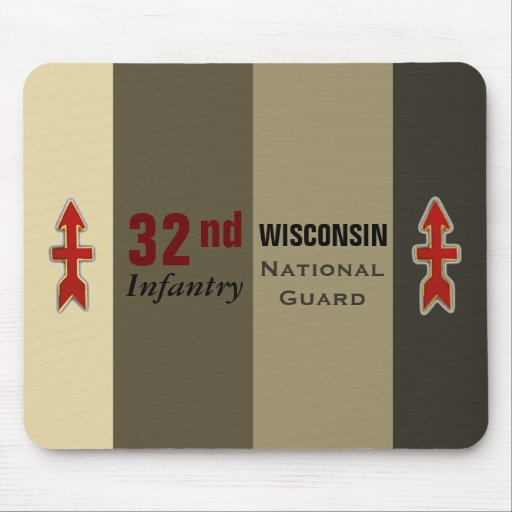 32nd Infantry Wisconsin National Guard Mouse Pads