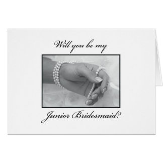 3325 Will You be my Junior Bridesmaid? Card