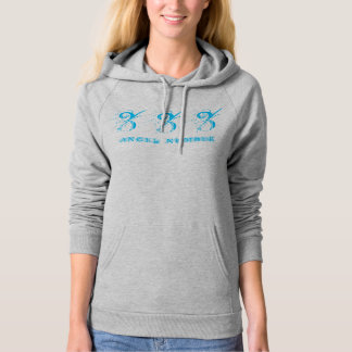 333 (ANGEL NUMBER) Synchronicity, Blue - Hoodie