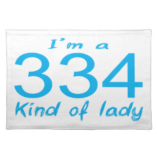334 LADY PLACEMAT