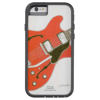 '335' phone cover Red electric guitar