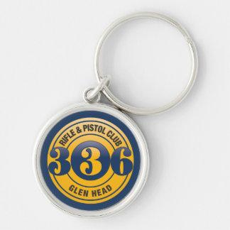 336 Color Logo Premium  Keychain