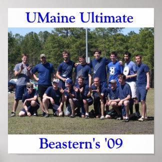 3383710838_e345dd635e_o, UMaine Ultimate, Beast... Poster