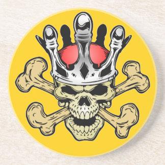 338 Skull King Color Coaster