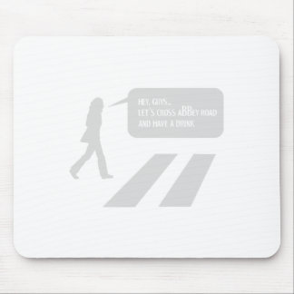 33/5000 A stroll through historic London Mouse Pad