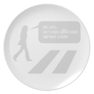 33/5000 A stroll through historic London Party Plate