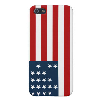 33 Star Fort Sumter American Civil War Flag iPhone 5/5S Case