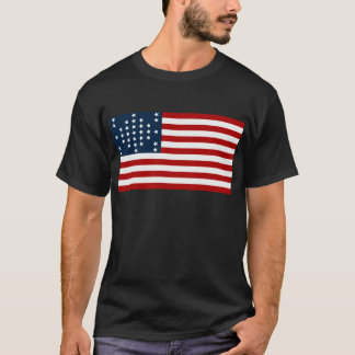 33 Star Fort Sumter American Civil War Flag T-Shirt
