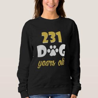 33rd Birthday Costume For Dog Lover. Sweatshirt