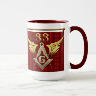 33rd Degree Freemason Mug