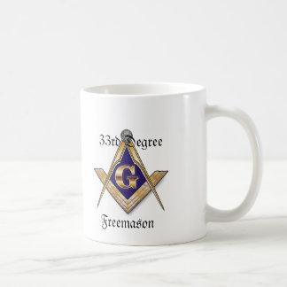 33rd Degree Freemason White Mug