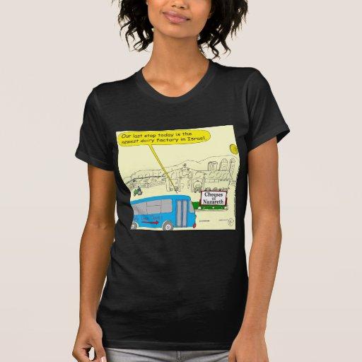 343 Cheeses of nazareth color cartoon Shirt