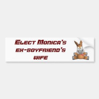 3466028847, élisent l'épouse des ex-amis de Monica Autocollant De Voiture