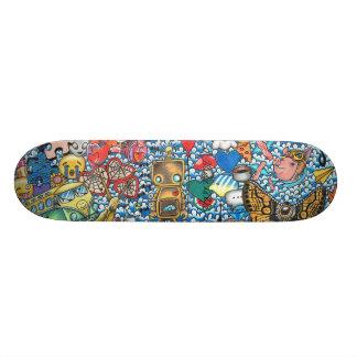 34 Days Custom Skateboard