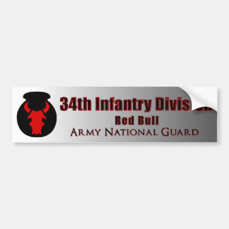 34th Infantry Division Bumper Sticker