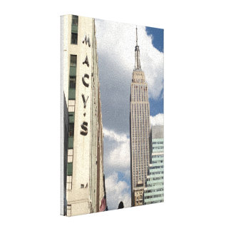 34th Street Empire State Building Manhattan NYC Canvas Print