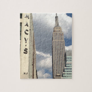 34th Street Empire State Building Manhattan NYC Jigsaw Puzzle