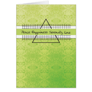 3523 Peace Happiness Recovery Birthday Card