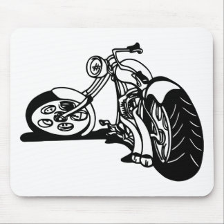 354 Chopper Bike Mouse Pad