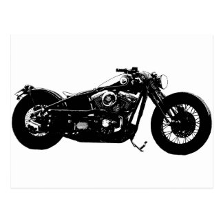 359 Bobber Bike Postcard
