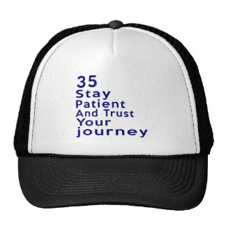 35 American Legend Birthday Designs Trucker Hat