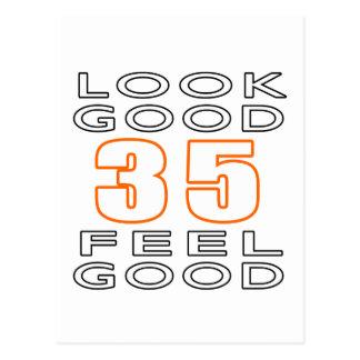 35 Look Good Feel Good Postcard