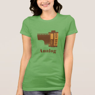 35mm Film Analog Design Personalized T-Shirt