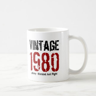35th Birthday Vintage 1980 or Any Year V01O Coffee Mug