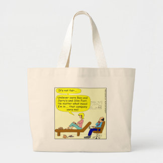 360 that company owns me Cartoon Jumbo Tote Bag