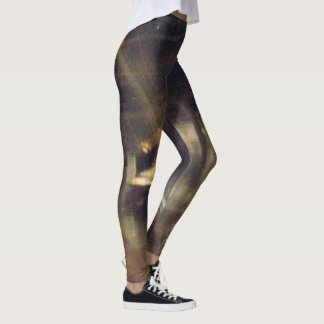 365 Days of Yoga. Day 55. #earthfire Leggings