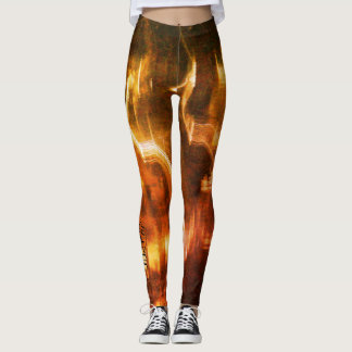 365 Days of Yoga. Day 56. #fire Leggings