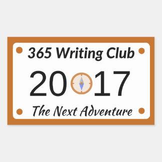 365 Writing Club Stickers! Sticker