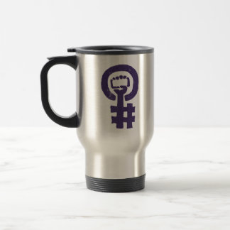 #365FeministSelfie Travel Mug