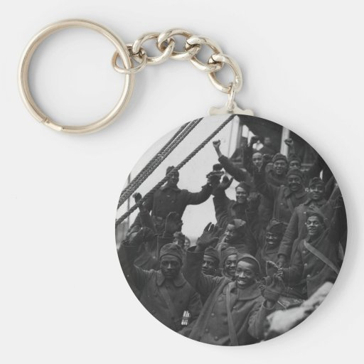369th New York National Guard Infantry Regiment Keychains