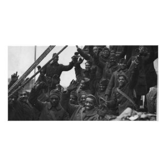 369th New York National Guard Infantry Regiment Photo Card