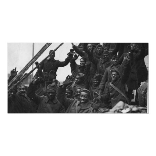369th New York National Guard Infantry Regiment Personalized Photo Card
